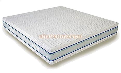 Materasso matrimoniale 100% Lattice The Best Effetto Casa 160x190-195-200 cm
