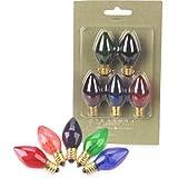 C7 Replacement Bulbs - Set of 5- Christmas Lights / Night Lights