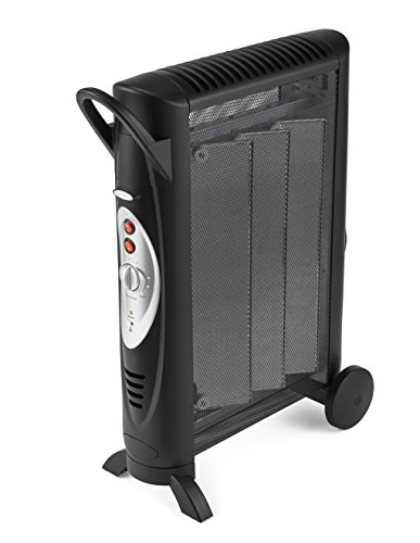 Bionaire Silent Micathermic Console Heater for Large Spaces, Black (Convection Heater Thermostat compare prices)