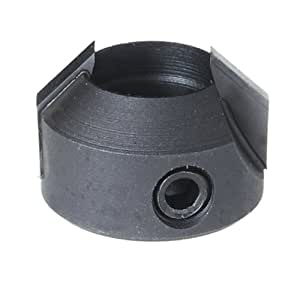 Freud 7018L 20-Millimeter Outside Diameter by 12-Millimeter Inside Diameter Left Turn Carbide Tipped Counter Sink for Spindle Boring Machine Bit