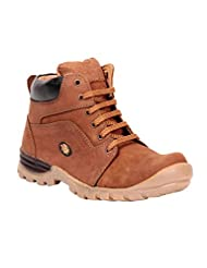 Haroads High Ankle Leather Boots