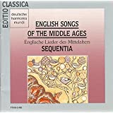 English Songs of the Middle Ages
