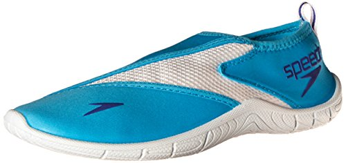 Speedo Women's Surfwalker 3.0 Water Shoe, Cyan, 9 M US