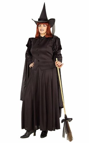 Classic Witch Adult Womens Plus Size Costume