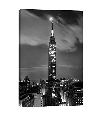 Retro Images Beautiful New York City Archive Gallery-Wrapped Canvas Print
