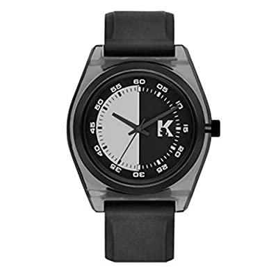 Karl Lagerfeld KL3201 Graphik Black Rubber Strap Unisex Watch