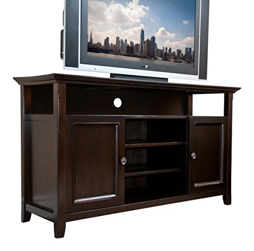 Simpli Home Amherst Collection TV Media Stand Dark