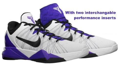 Nike Kobe Vii System Supreme, White/Black/Concord Uk Size: 11