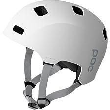 POC Receptor Crane Helmet: Hydrogen White; XS/SM