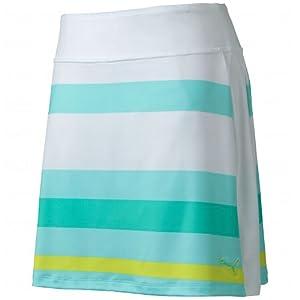 Puma Golf NA Ladies Stripe Print Skirt by PUMA
