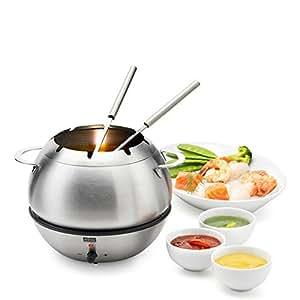 st ckli hotbowl service fondue lectrique inox cuisine maison. Black Bedroom Furniture Sets. Home Design Ideas