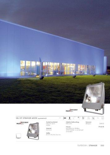 SXL HIT Strahler 400W silber-grau