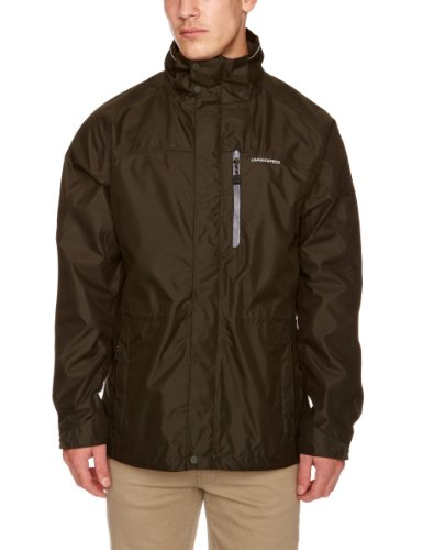 Craghoppers Kiwi Men's Waterproof Jacket - Dark Cedar, Small