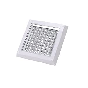 Dehang 6W White 6000-6500K Square Decorative LED Ceiling Light Dining Room Kitchen Bathroom Lamp Lighting Fixture AC 110V 220V by DEHANG