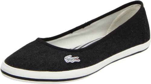 Lacoste Women's Marthe 3 Slip-On Fashion Sneaker,Black,8.5 M US