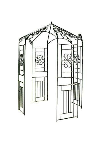 clp runder rankbogen rosenbogen pavillon aus. Black Bedroom Furniture Sets. Home Design Ideas