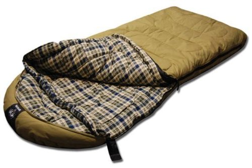 Grizzly +0 Degree Ripstop Sleeping Bag (Olive)