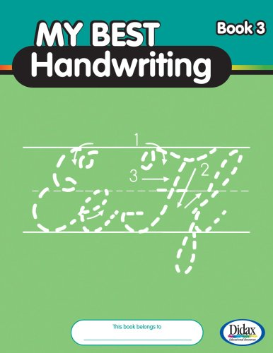 My Best Handwriting, Book 3: Beginning Cursive
