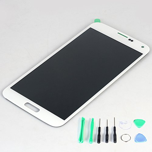 Generic Lcd Display Touch Screen Digitizer Assembly For Samsung Galaxy S5 I9600 G900R G900F G900H G900M G9001 White