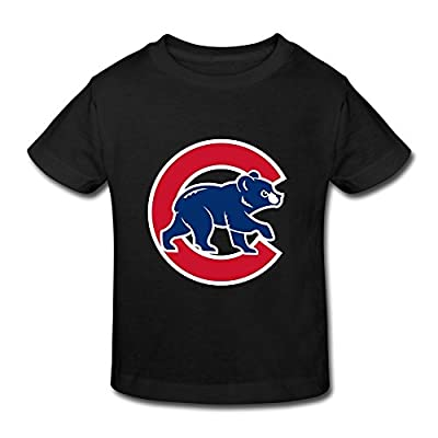 TBTJ Chicago Cubs T Shirt For Toddlers 2-6 Years Old