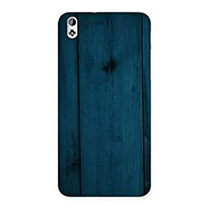 Enticing Blue Royal Wood Back Case Cover for HTC Desire 816g