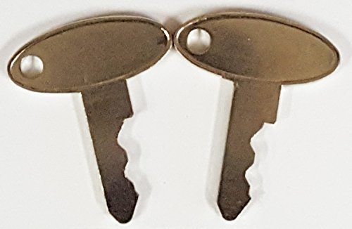 Pair (2 keys) Keyman Ford-New Holland Tractor & Equipment Key-fits Massey Ferguson, Perkins, Sakai, Shibaura, Terramite, Vermeer, Wacker, Part Number 1570 (Ford Tractor 1720 compare prices)