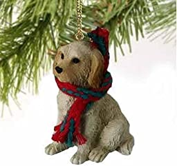 1 X Cream Labradoodle Christmas Ornament by Conversation Concepts