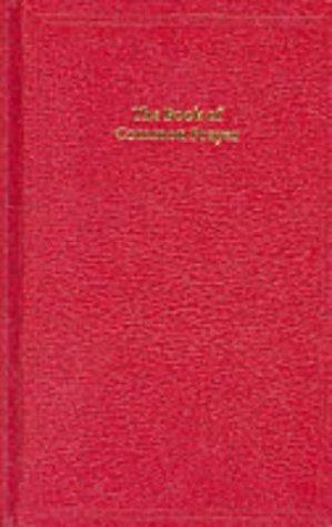 BCP Standard Edition Prayer Book Red imitation leather hardback 601B: Pitt Bourgeois Prayer Book