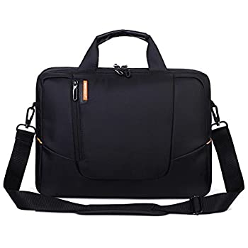 BRINCH(TM) 15.6 inch New Soft Nylon Waterproof Laptop Computer Case Cover Sleeve Shoulder Strap Bag with Side Pockets Handles and Detachable for Macbook Pro