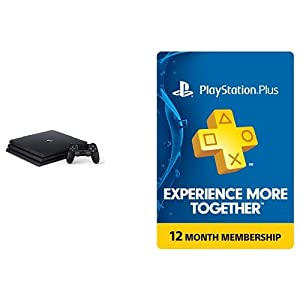 PlayStation 4 Pro 1TB Console + 1 year PlayStation Plus Membership