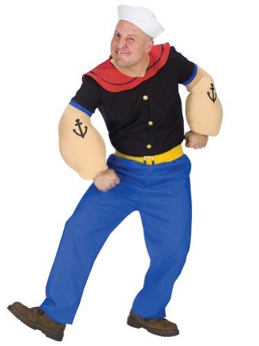 [Popeye Costume Adult Standard Size] (Popeye Costumes)