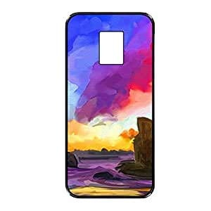 Vibhar printed case back cover for Samsung Galaxy S5 PaintedOcean