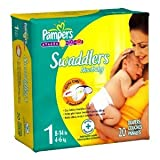 Pampers Diapers Size 1 (8-14 lbs) 20 count