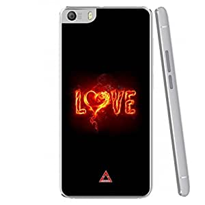 a AND b Designer Printed Mobile Back Case / Back Cover For Micromax Canvas Fire 4 A107 (MIC_A107_3464)