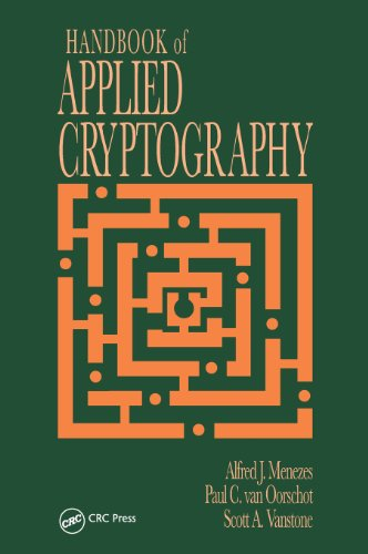 Handbook of Applied Cryptography (Discrete Mathematics...