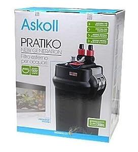 Askoll pratiko 200 new generation filtro esterno per for Askoll acquario prezzi