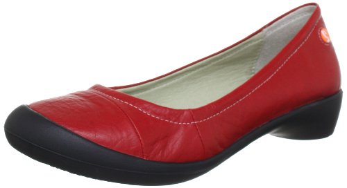 Softinos FLORINDA Slipper Womens Red Rot (red 506) Size: 3.5 (36 EU)