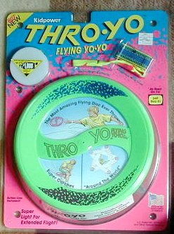 Throw-Yo Flying Yo-Yo (1991) - Buy Throw-Yo Flying Yo-Yo (1991) - Purchase Throw-Yo Flying Yo-Yo (1991) (Kid Power, Toys & Games,Categories,Activities & Amusements,Yo-yos)