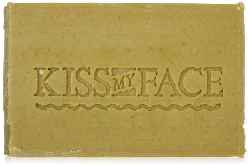 Kiss My Face Olive & Honey Bar Soap, 8-Ounce Bars (Pack Of 8)