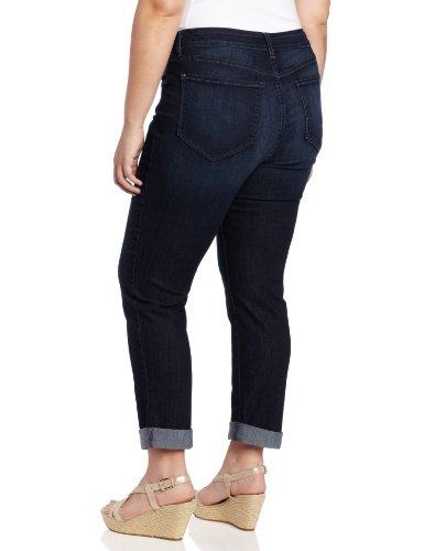 NYDJ Women's Plus-Size Tanya Boyfriend Roll Cuff Jeans, Torrance Wash, 18W