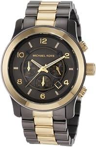 Michael Kors Men's MK8160 Brown Stainless Steel Quartz Watch with Grey Dial
