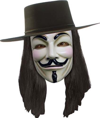 V for Vendetta Wig Costume Accessory