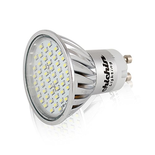 Chichinlighting® Smd Gu10 Led Bulb 5W 350Lm 4000K 35W Equivalent Replacement 4Pcs/Pack