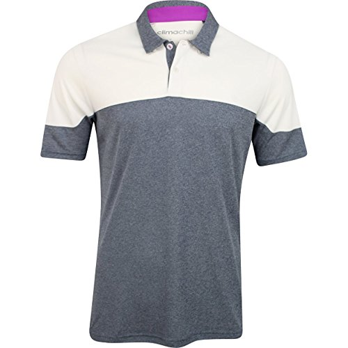 Adidas ClimaChill Blocked Golf Shirt