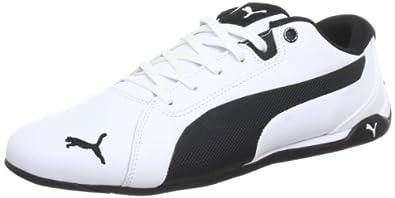 Puma Racing Cat L 304697 Herren Sneaker, Weiß (white-black 01), EU 36 (UK 3.5) (US 4.5)