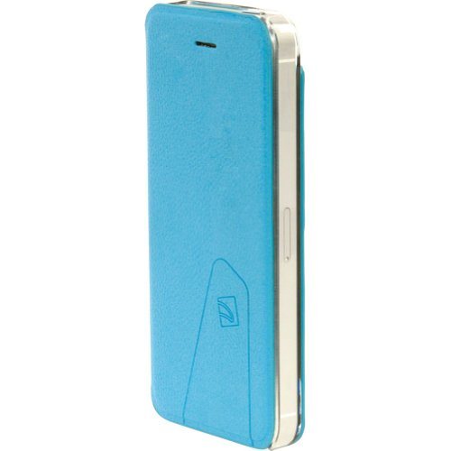 Great Price Tucano Libretto Flip Case For IPhone 5 (Sky Blue)