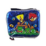 Angry Birds Blue Metallic Lunch Bag