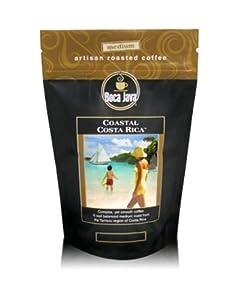 Boca Java Roast to Order, Coastal Costa Rica, Decaf Whole Bean, Medium Roast Coffee, 8 oz. bags (Pack of 2)
