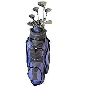 PowerBilt Ladies Countess Petite Golf Box Set (Right Hand, Graphite)