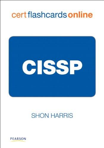 CISSP Cert Flash Cards Online, Retail Packaged Version (Shon Harris Security)
